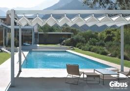 Pergola pavilion FLY piscina. Gibus inseamna calitate fara compromis la un pret excelent.