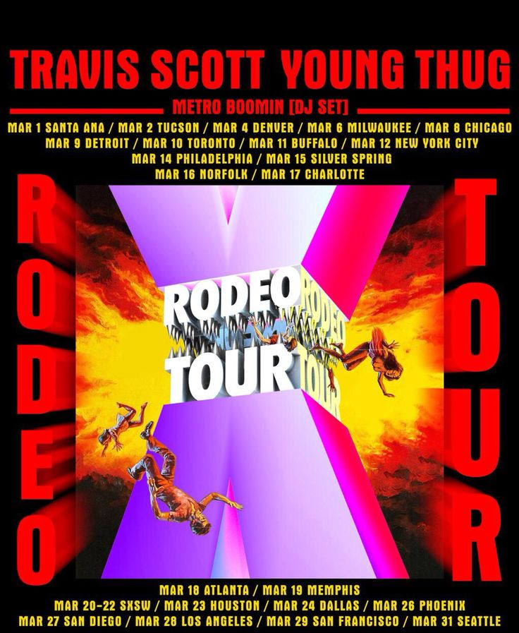 Days before rodeo tour