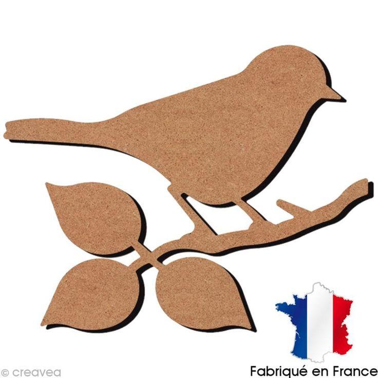 Compra nuestros productos a precios mini Pájaro sobre ramita de madera - 29 cm - Entrega rápida, gratuita a partir de 89 € !