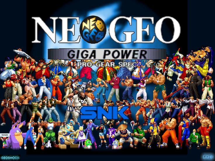Neo Geo Roms Pack 2019
