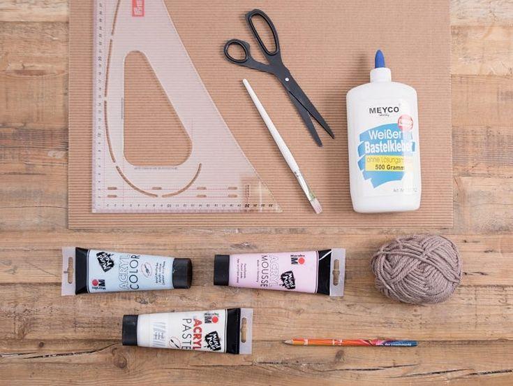 Tutorial fai da te: Come fare una collana per bambini con perle in cartoncino ondulato via DaWanda.com