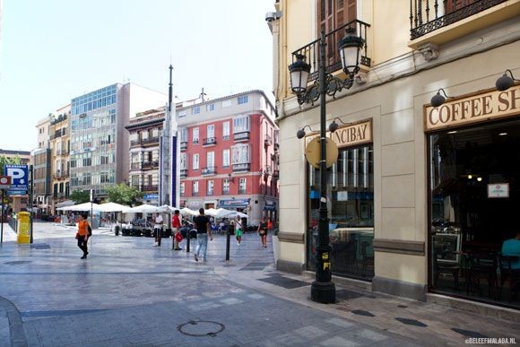 17 best images about beleef malaga straten pleinen on for Plaza uncibay