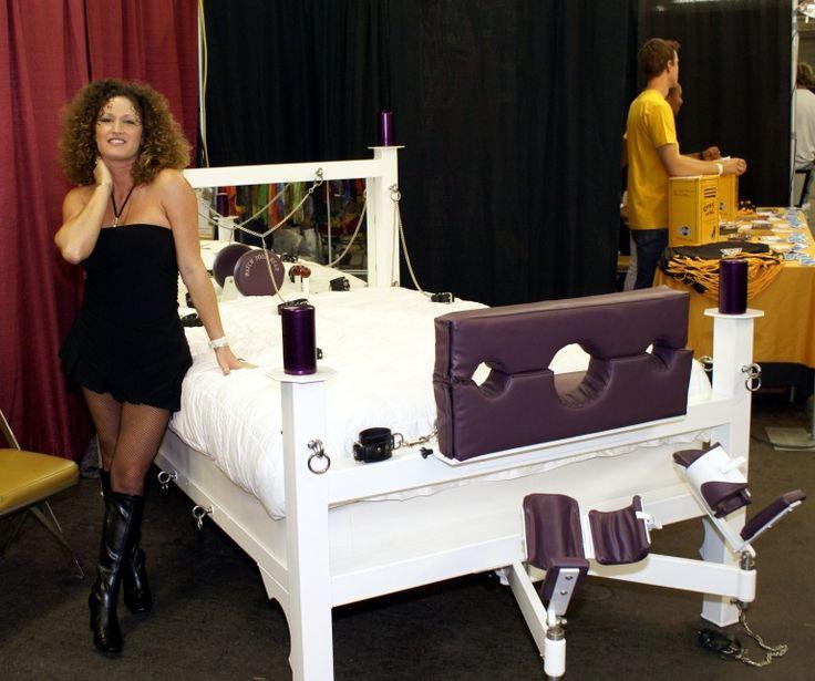 Bondage Furniture  Exotic Erotic Expo - Bondage Bed Bdsm -6981