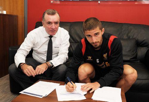 Borini - first summer signing of Liverpool FC
