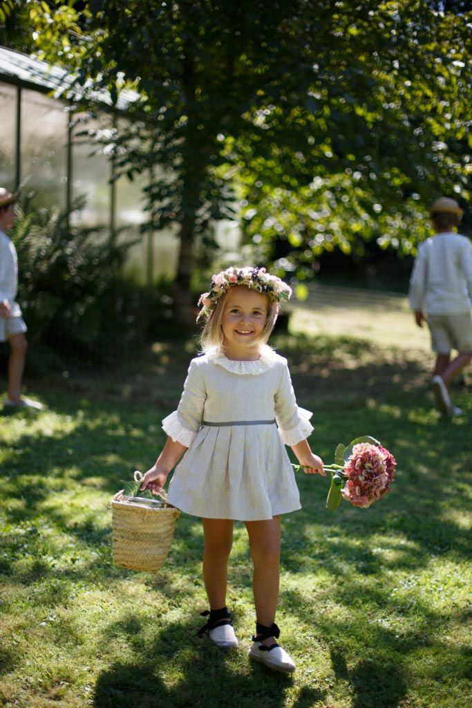 darling flower girl outfit
