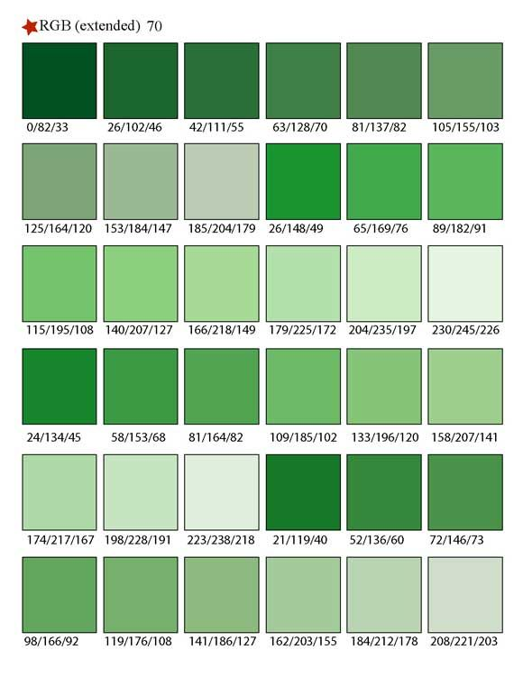 Car paint color samples - Green Color Swatches Printable Rgb Color Palette Swatches Color