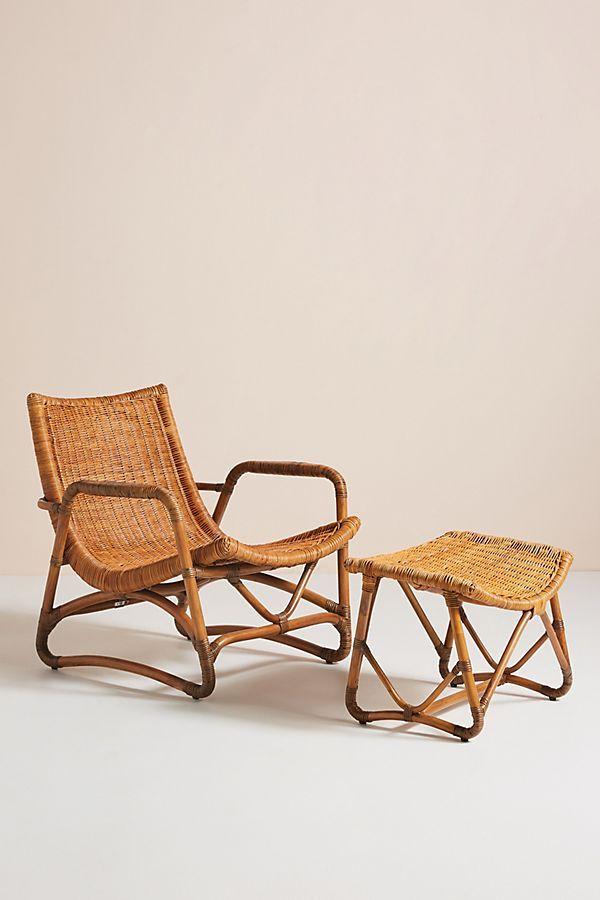 Bodega Lounge Chair & Ottoman in 2019   CRANE ISLAND   Chair ...