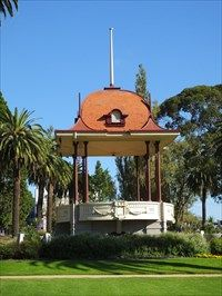 Hitchcock Memorial Bandstand - Geelong, Australia - Gazebos on Waymarking.com