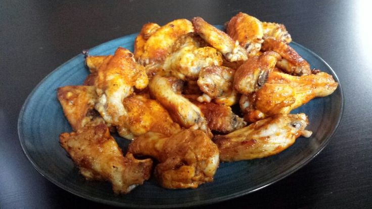 Clean eating chicken wings!