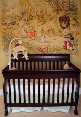 47 best images about bunny themed nursery rabbit themed for Beatrix potter bedroom ideas