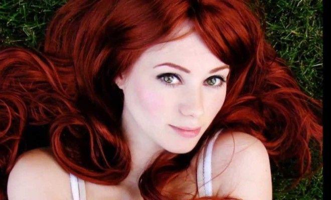 Kızıl Saç Rengi-Saç Modelleri