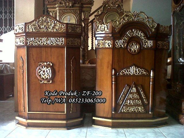 #mimbar #masjid #jati #jepara #mimbarmasjid #masjidagung #mimbarmasjidkaligrafi #mimbarmasjidminimalis #mimbarmasjidmodern #mimbarmasjidreadystock  www.ukirmebeljepara.net | www.zahirartfurniture.com