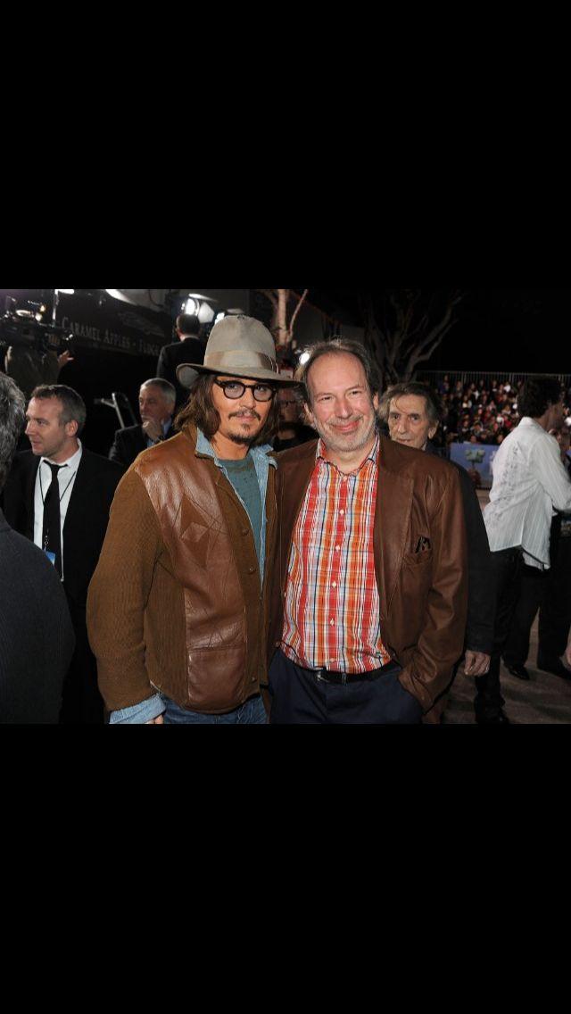 Johnny Depp and Hans Zimmer