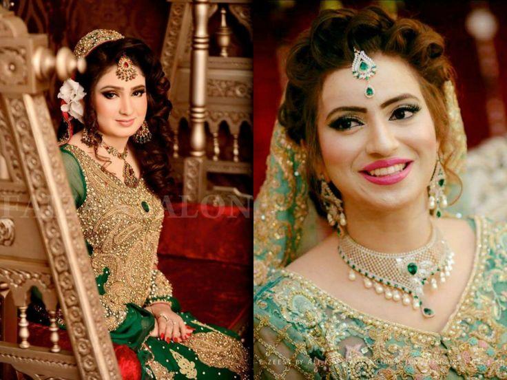 Faiza's salon Valima bride