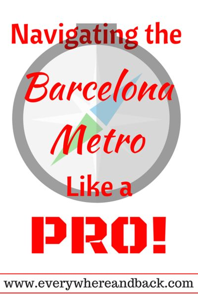 Learn to navigate the Barcelona, Spain metro like a pro!  Everything from which ticket to scams to avoid falling for!