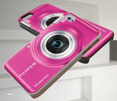 Vintage Pocket Camera Pink iPhone 4/4s,iPhone 5/5s/5c,Samsung Galaxy S3/S4/S5 Case
