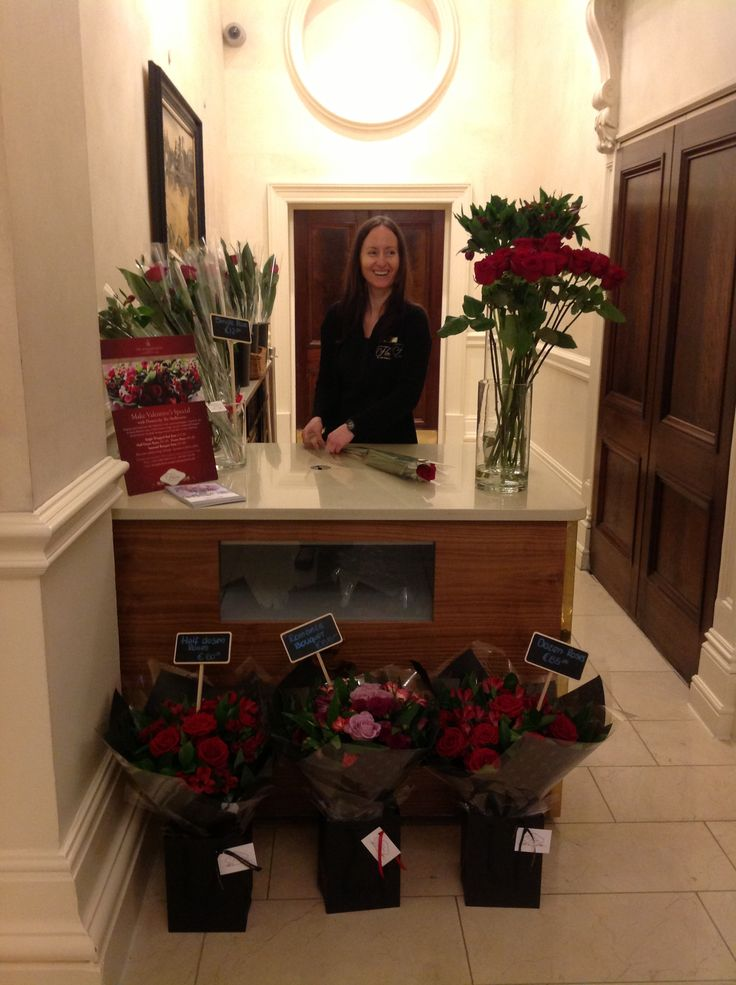 We loved our valentines Pop Up Shop. Can't wait to do it again at Mother's Day #roses #flowersbytheshelbourne