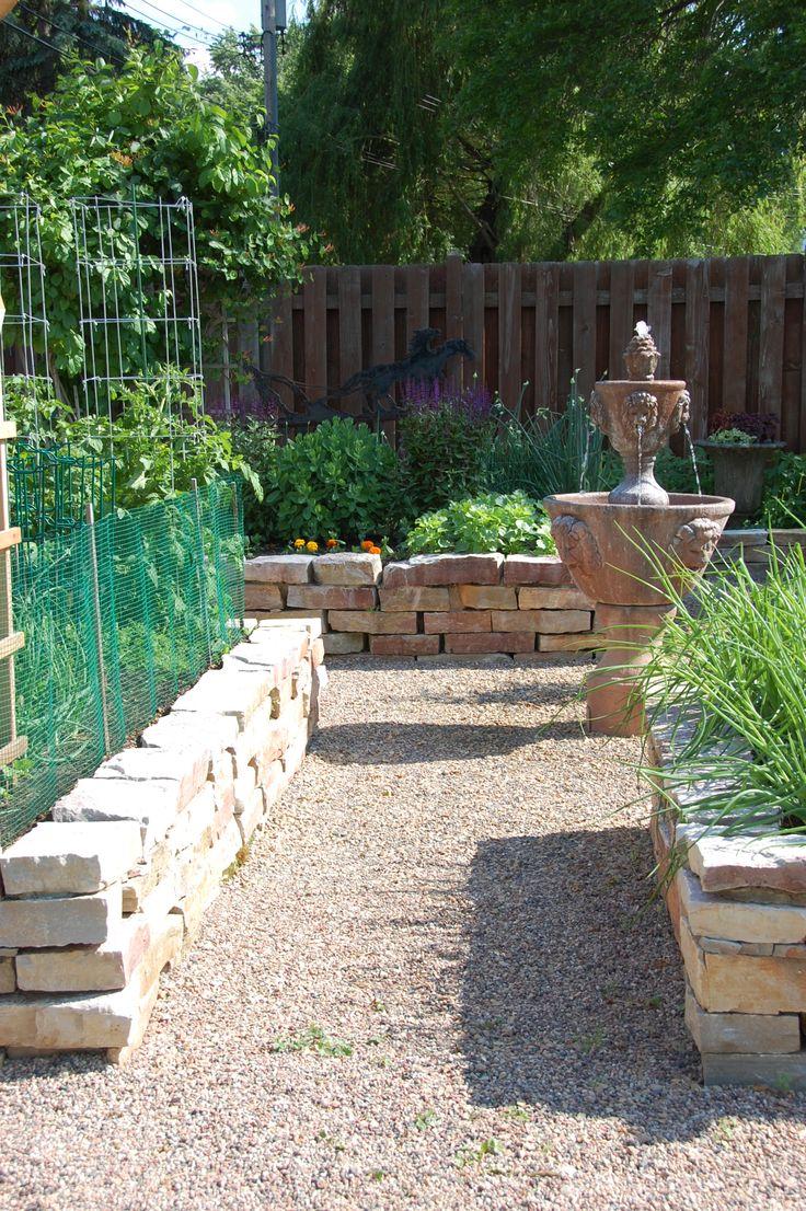 stone raised garden beds - Google Search | Garden Ideas ...