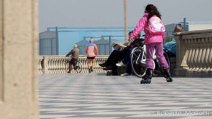Esplanade 0017. Livorno, Tuscany