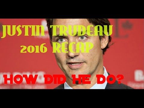 ⏩Justin Trudeau 2016 Recap 🌐 First Year as Prime Minister