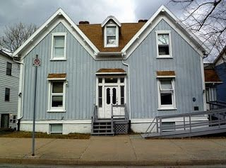 Sir Sandford Fleming's house on Brunswick Street in Halifax's north end.