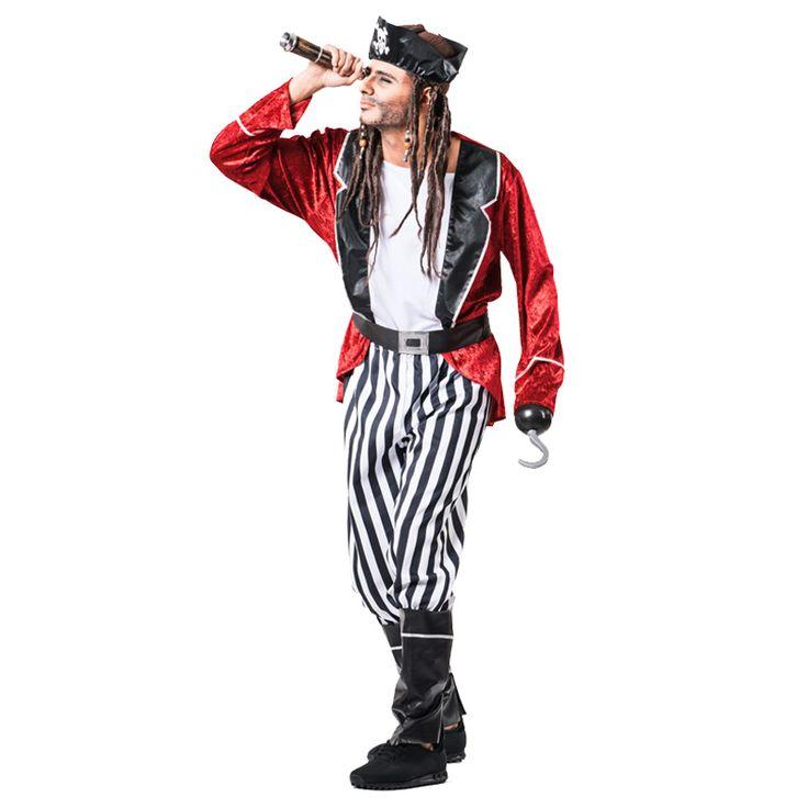 Déguisement Pirate barbe Noire pour homme #déguisementsadultes #costumespouradultes #nouveauté2016