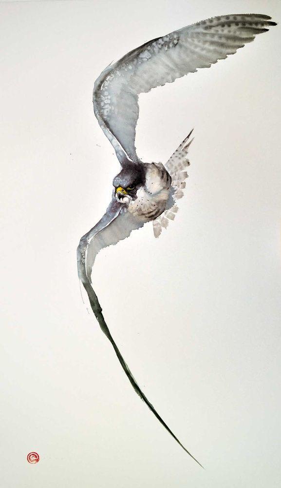 Maak kennis met mevrouw Peregrine, het hoofd van het weeshuis in Wales. Daar beschermt ze de bijzondere kinderen zo goed als ze kan. Deze foto is genomen in haar gedaante van vogel. Ze kan namelijk gemakkelijk van mens naar vogel en omgekeerd veranderen.