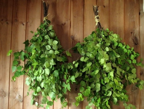 There is nothing like sauna to make you feel great.   I love vihta because I love everything about birch trees.