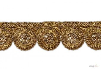 This awesome design is of Gota Patch . Its product code is: 004372 , Its size is: 80 mm. Material used is 100% Polyester . This Gota Patch comes with Cording Gota work , Gota work decoration. As seen design pattern is Flower . Locally this lace is also known as Gota Patch . This Gota Patch item have 1 colors available in this design. This lace can also be used in God Dress , Salwar Kameez , Saree , Saree Border etc.