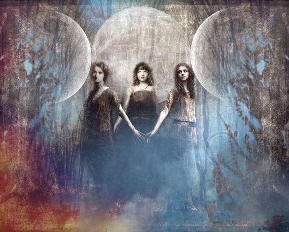 Special Edition: The Triad of the Goddess, 11X14 signed and numbered