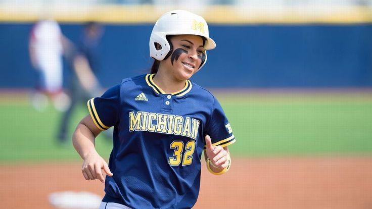 2015 espnW Softball Player Of The Year: Michigan's Sierra Romero enters the Ann Arbor regional hitting .469 with 20 home runs, 74 RBIs, a .979 slugging percentage and .624 on-base percentage.
