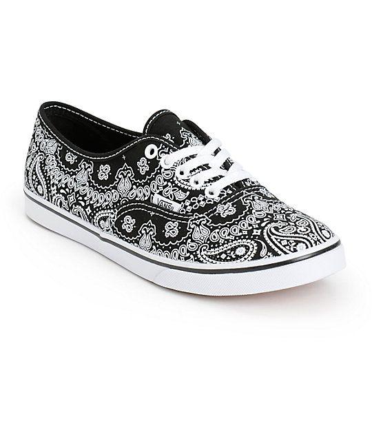 Vans Authentic Lo Pro Bandana Shoes 6d79ccd9278d