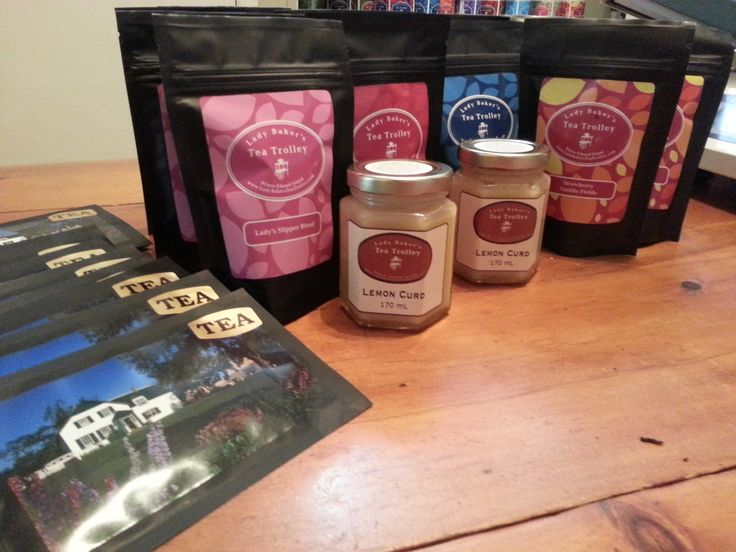 The Showcase Gift Shop in the Confederation Centre of the Arts in downtown Charlottetown, PEI carries a number of our products: bags of tea, tea post cards and our lemon curd!