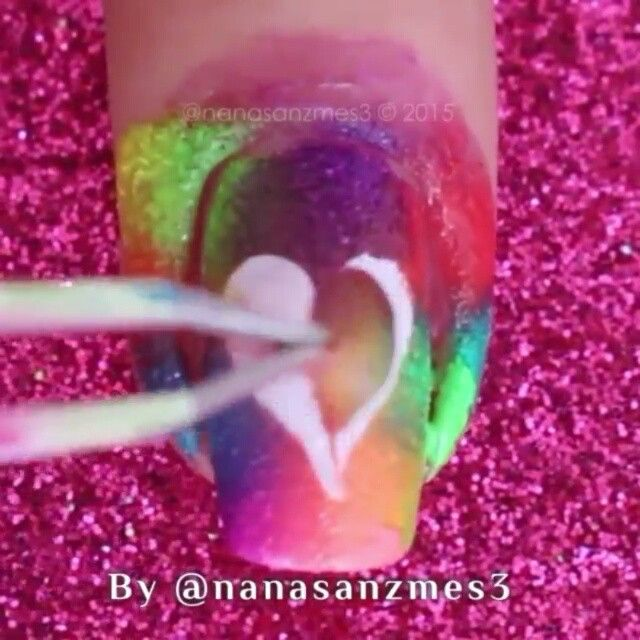 Tutorial for adorable heart nails by @nanasanzmes3 using liquid nail tape Liquid Palisade by Kiesque from whatsupnails.com (link in bio). Shipping worldwide!  Whats Up Nails tape, stickers and stencils, Creative Shop stampers, MoYou-London stamping plates, Pure Color brushes and watermarble tool, Dazzle Dry nail polishes, liquid nail tape Liquid Palisade by Kiesque, Mont Bleu glass files, SnapTats jewelry tattoos, NCLA nail wraps and nail polishes are available on whatsupnails.com (click…
