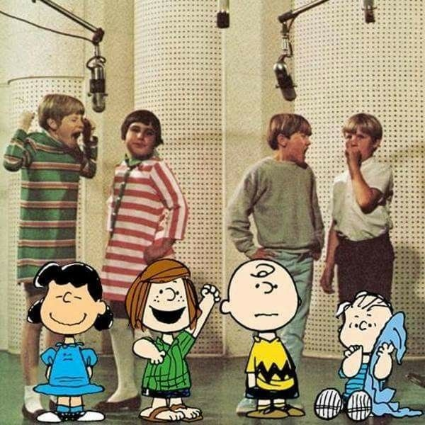 The Kids who voiced the original Peanuts TV specials.