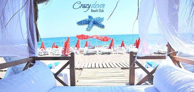 Lara Crazy Eleven Beach Club Girişi