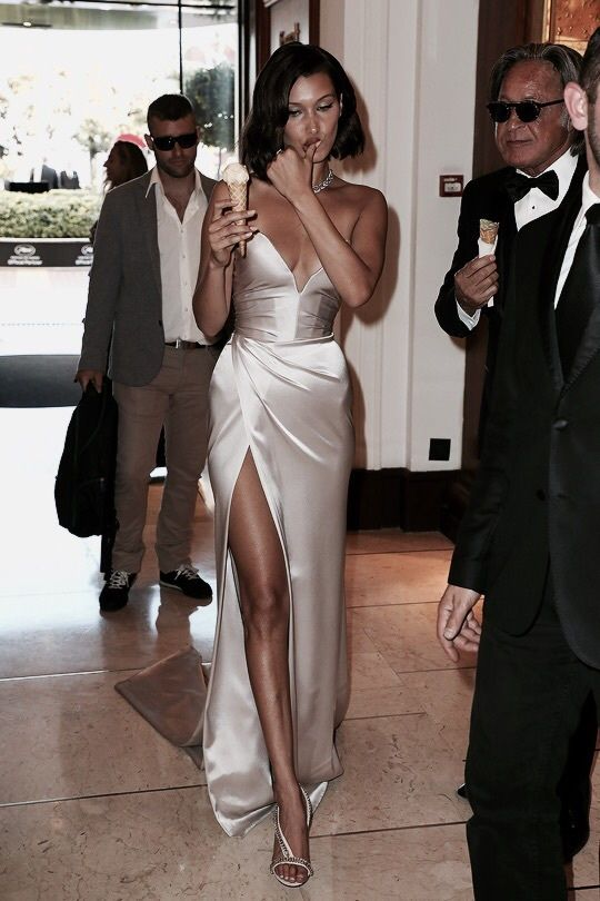 bella hadid cannes red carpet style