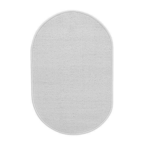 NÄCKTEN Tapete de casa de banho IKEA Base antiderrapante em látex. Mantém o tapete no seu lugar.