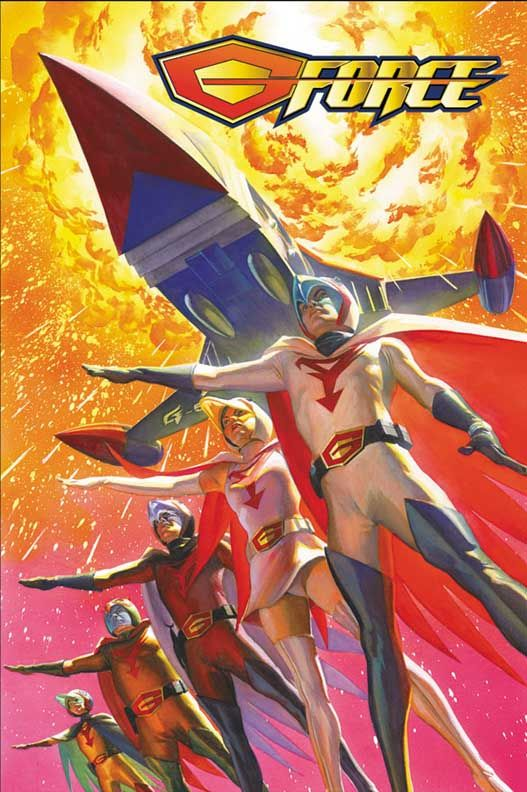 BATTLE OF THE PLANETS/G-FORCE POSTER//Other Art/Alex Ross/ Comic Art Community GALLERY OF COMIC ART