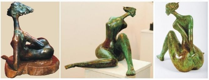 Madhulika Jha – Artist Sculptor - India Sculptures - India Art Gallery -Sculpture Exhibition India –  http://indiaartgallery.in/artists/madhulika-jha/