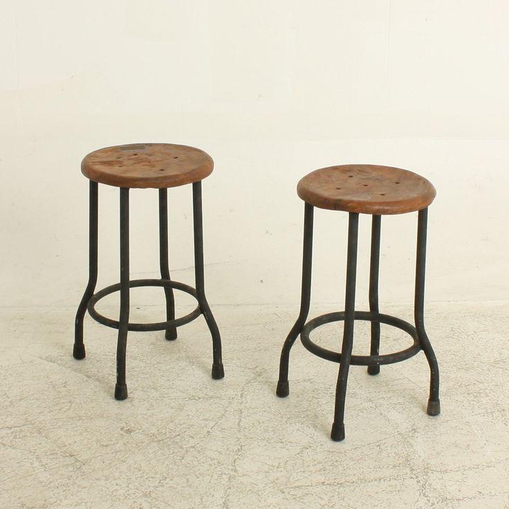 Warung kruk naturel krukken meubels 28x28x50 75 meubels voor jordaan huis pinterest - Am pm meubels ...