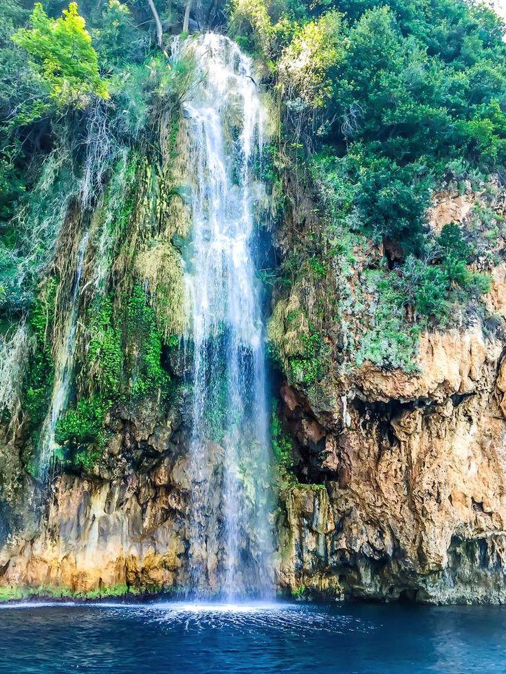 Waterfall near Kabak beach (Oludeniz Fethiye Turkey)