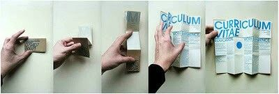 Fold out CV