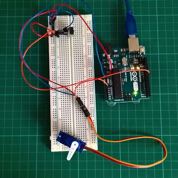 Weißt du wie man einen Servo ansteuert?  www.mymakerstuff.de #arduino #tutorial by mymakerstuff