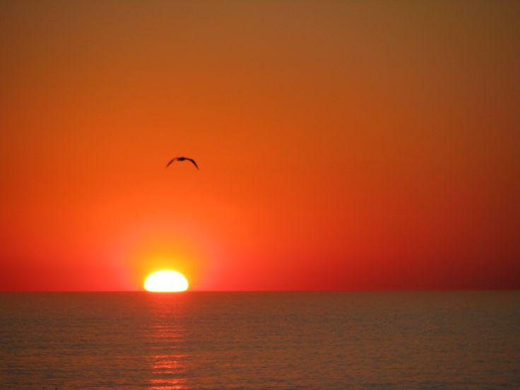 Sunset, Namibia