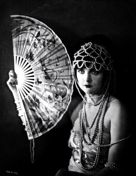 Jacqueline Logan, Silent Film Star, c.1925