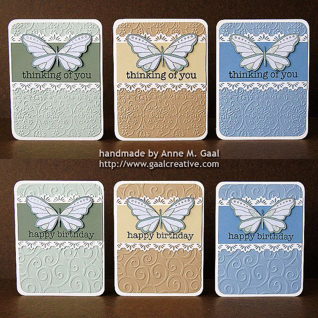 cuttlebug simple cards