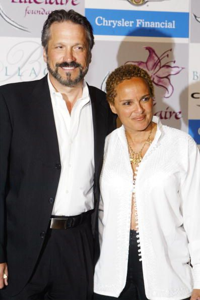 KolorBlind Couple of the Month (September '12): Shari Belafonte and Sam Behrens News Photo: Sam Behrens and Shari Belafonte Mr & Mrs Behrens have been married for 23 years
