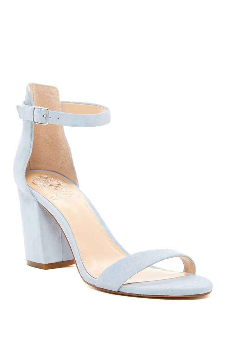 Pale blue Vince Camuto Beah Block Heel Sandals