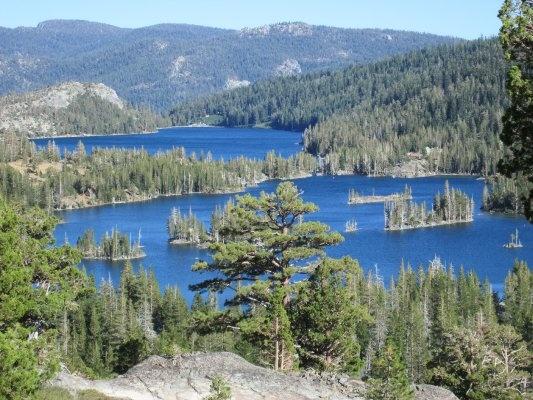 Echo Lakes & Lake Tahoe